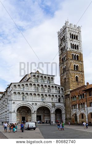 Lucca Cathedral Of Saint Martin