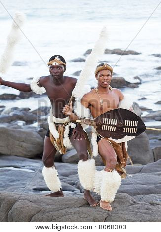 african zulu men