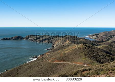 Point Bonita coast, San Francisco