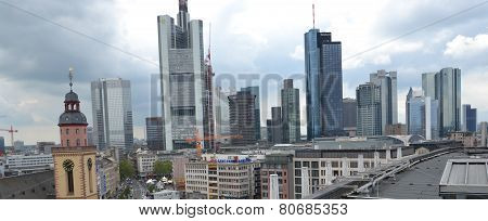 Frankfurt am Main, Germany - skyline