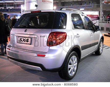 Suzuki SX4 car on Belgrade car show