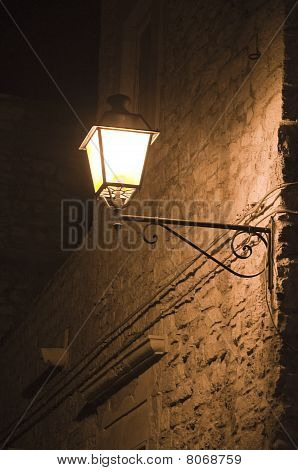Street Lamp at night.