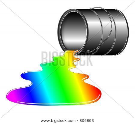 Rainbow Spill