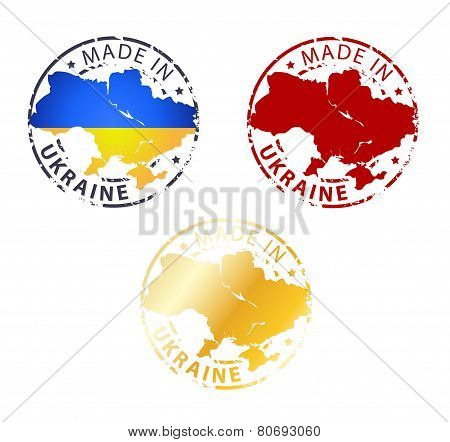 Made In Ukraine Stamp