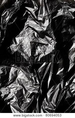 Black Polyethylene Texture