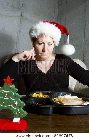 Christmas Dinner Alone
