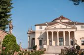 pic of vicenza  - Villa La Rotonda is a Renaissance villa just outside Vicenza in northern Italy and designed by Andrea Palladio - JPG