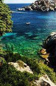 ������, ������: The Bay Of Cala Spinosa In Sardinia