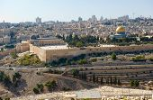 stock photo of aqsa  - The temple mount with the al - JPG