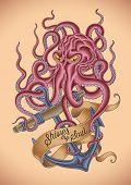 foto of octopus  - Old - JPG