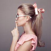 pic of barbie  - Beautiful blonde woman - JPG