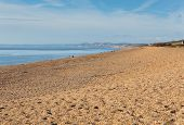picture of shingles  - Abbotsbury beach Dorset England UK Jurassic coast sand and shingle - JPG