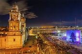 pic of palace  - Metropolitan Cathedral and President - JPG