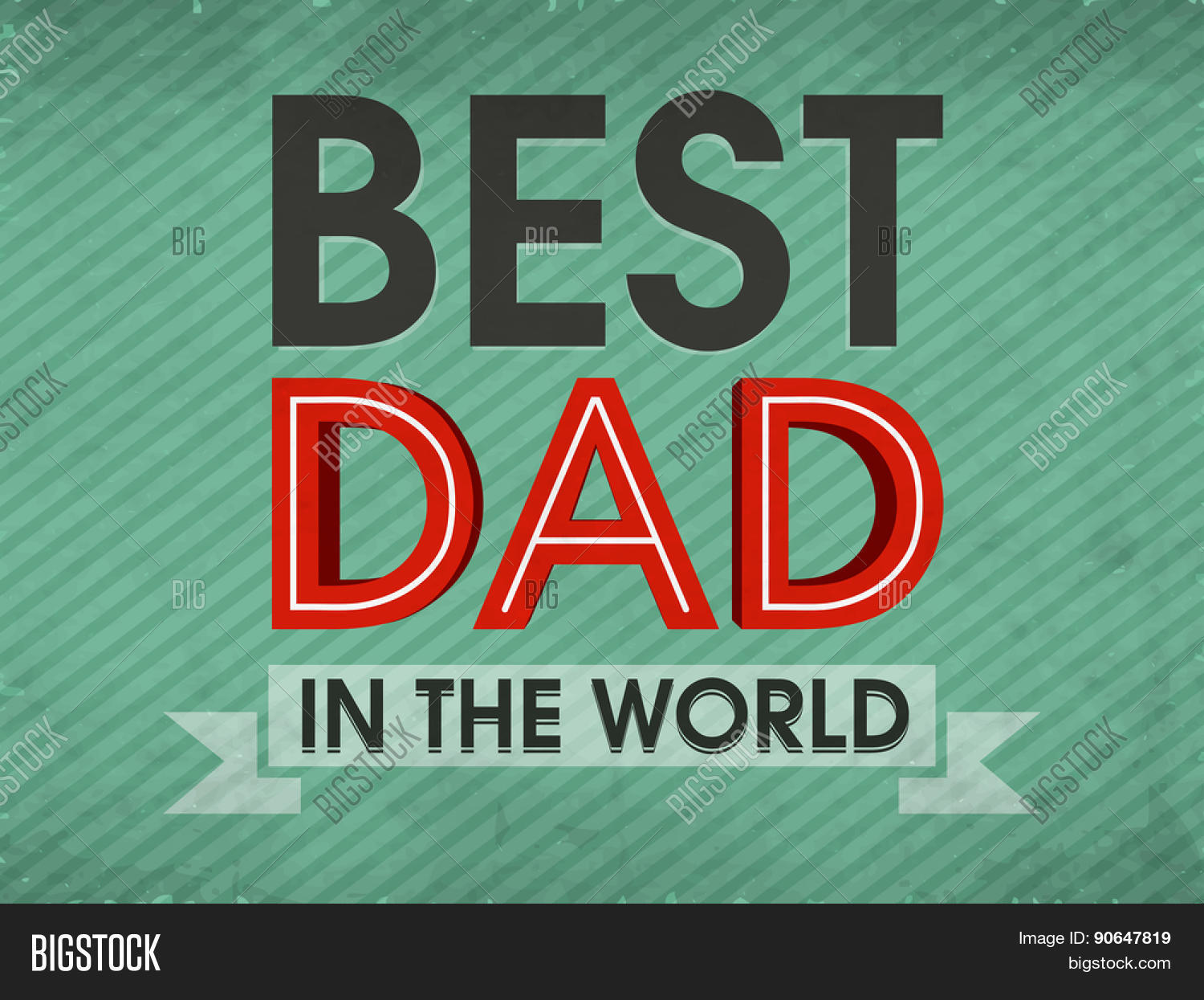 Fathers Day Graphic Design