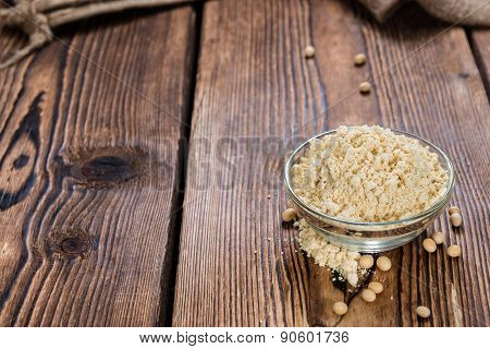 Portion Of Soy Flour