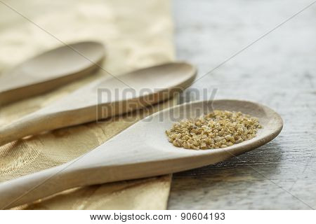 Bulgur Wheat Cooking Background