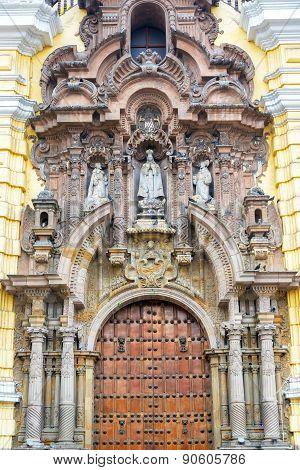 San Francisco Convent Facade