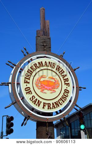 Famous Fisherman Wharf sign