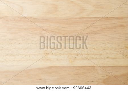 Closed Up Of Horizontal Texture Of The Wooden Board