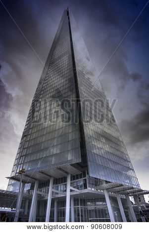 London, England - May 11th, 2015: The Shard building, it is currently the tallest building in the European Union.
