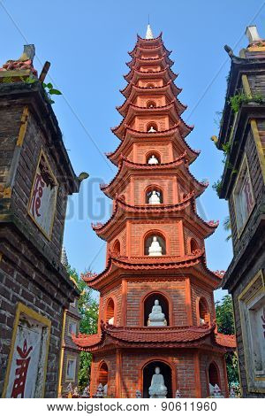 Tran Quoc Pagoda West Lake, Hanoi