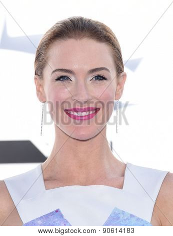 LOS ANGELES - APR 12:  Bridget Regan arrives to the MTV Movie Awards 2015  on April 12, 2015 in Hollywood, CA