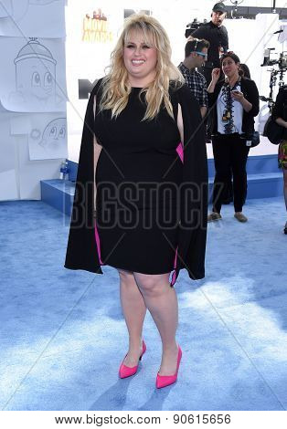 LOS ANGELES - APR 12:  Rebel Wilson arrives to the MTV Movie Awards 2015  on April 12, 2015 in Hollywood, CA
