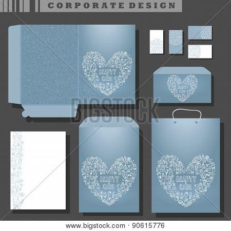Corporate Template Design, Cosmetics And Self Care