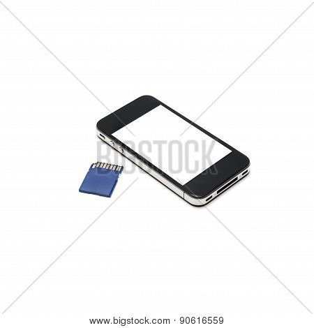 Smart Phone And Sd Card