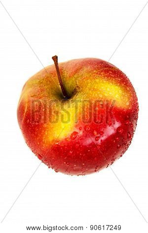 Red-yellow Apple.