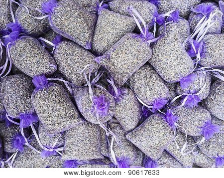 Lavender Sachet Background