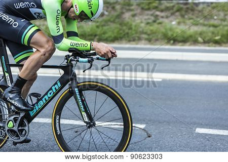 Bianchi Bicycle In Action - Tour De France 2014