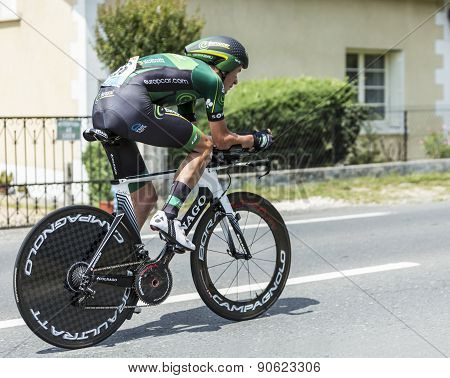 The Cyclist Alexandre Pichot - Tour De France 2014