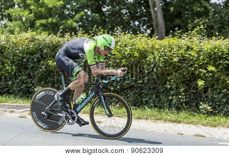 The Cyclist Lars Boom - Tour De France 2014