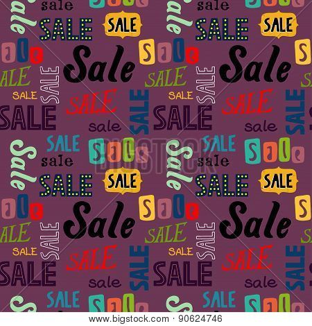 Sale Words Pattern