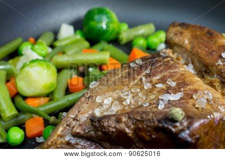 Beef Fried With Vegetables