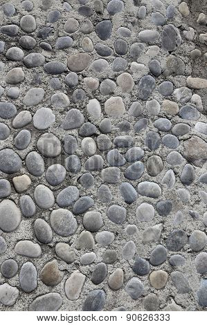 Background With Round Stones