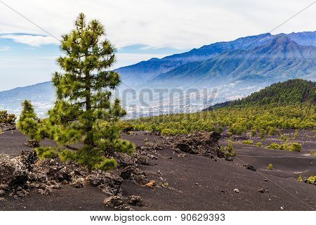 Mountains Landscape Volcanic Island