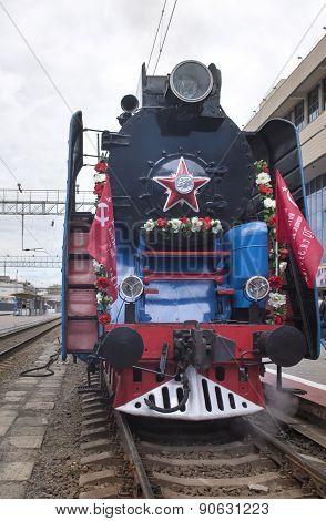 Soviet-speed Passenger Steam Locomotive