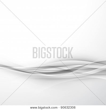 Futuristic Elegant Hi-tech Swoosh Wave Background