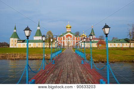 Monastery on Lake Valdai