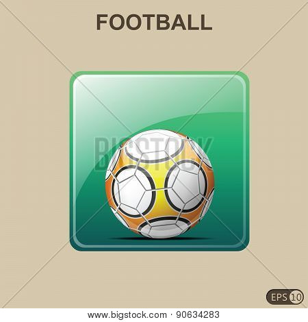 Soccer Ball - Illustration