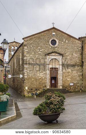 Church Of Sant Egidio, Montalcino, Italy