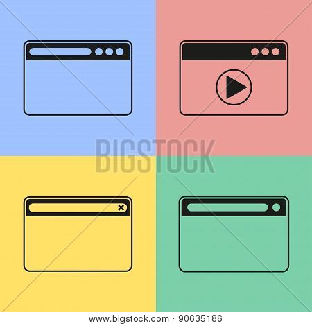Browser Icons.