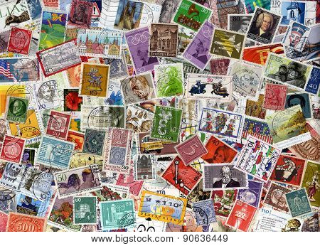 Germany postage stamp collection