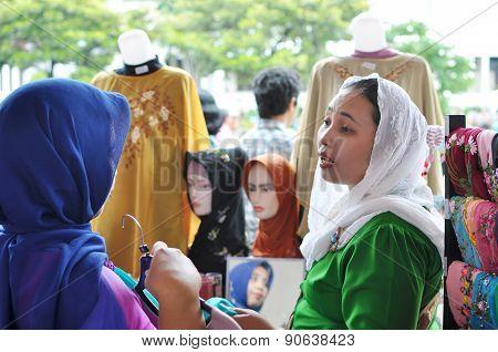 Hijab seller