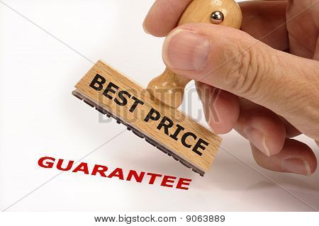 Best price and guarantee