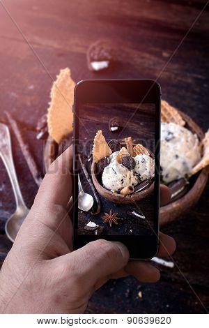 Ice Cream Photographing