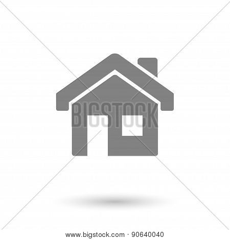 Flat House-home Background
