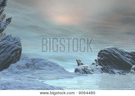 Winter Snowscape 1